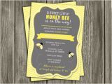 Honey Bee Bridal Shower Invitations Printable Honey Bee Baby Shower Invitation