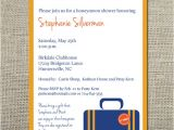 Honeymoon themed Bridal Shower Invitations Honeymoon Wedding Shower Invitation by Craftandhoney On Etsy