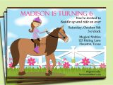 Horse Party Invitations Free Printable Free Printable Horse Party Invitation