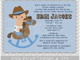 Horse themed Baby Shower Invitations Baby Shower Invitation Awesome Horse themed Baby Shower