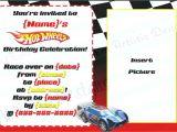 Hot Wheels Party Invitations Free Hot Wheels Birthday Party Invitations Best Party Ideas