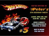 Hot Wheels Party Invitations Free Hot Wheels Invitations General Prints