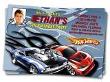 Hot Wheels Party Invitations Printable Hot Wheels Birthday Invitations – Bagvania Free Printable