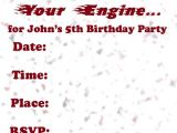 Hot Wheels Party Invitations Printable Invitations