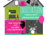 House Party Invitation Template Amazing House Party Free House Party Invitation Template