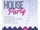 House Party Invitation Template Purple Party Place Free House Party Invitation Template