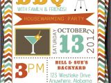 Housewarming and Baby Shower Invitations Bbq Party Invitation Invite Birthday Baby Shower Pool