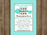 Housewarming and Baby Shower Invitations Home Sweet Home Housewarming Invitation New Home Invite
