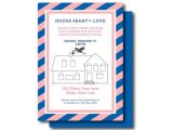 Housewarming and Baby Shower Invitations Housewarming and Baby Shower Invite Gender Reveal Invitation