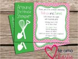 Housewarming Bridal Shower Invitations Around the House Couples Shower Invitation Housewarming