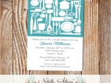 Housewarming Bridal Shower Invitations Kitchen Housewarming Party Stock the House Shower