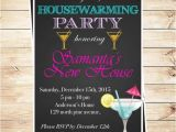 Housewarming Cocktail Party Invitations Housewarming Invitation Printable Cocktail Invitation