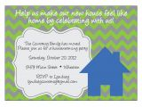 Housewarming Party Message Invite Chevron Housewarming Invitation by Elsypaper On Etsy