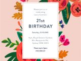 How to Design A Birthday Party Invitation Floral Birthday Dp Birthday Invitations