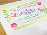 How to Design A Birthday Party Invitation How to Create Your Own Birthday Invitations 7 Steps
