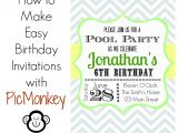 How to Design A Birthday Party Invitation Unique Ideas for Make Birthday Invitations Templates