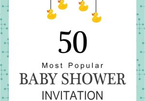 How to Do A Baby Shower Invitation 75 Most Popular Baby Shower Invitation Wordings