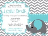 How to Do A Baby Shower Invitation Baby Shower Invitations Elephant theruntime Com