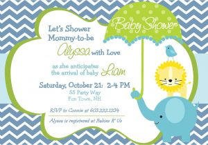How to Do A Baby Shower Invitation Baby Shower Invitations for Boy Girls Baby Shower