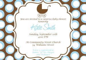 How to Do A Baby Shower Invitation Free Baby Boy Shower Invitations Templates Baby Boy