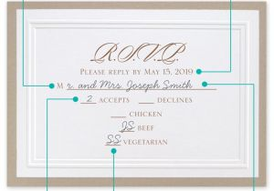 How to Fill Out A Wedding Invitation Fill Out A Wedding Rsvp Invitations by Dawn