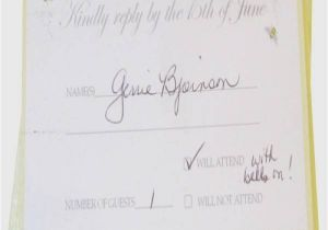 How to Fill Out A Wedding Invitation How to Fill Out A Rsvp Wedding Invitation Weddinginvite Us