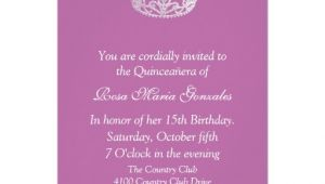How to Make A Quinceanera Invitation Personalized Mis Quince Invitations Custominvitations4u Com