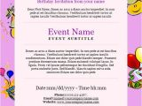 How to Make An Email Party Invitation Birthday Invitation Email Template 23 Free Psd Eps