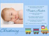 How to Make Baptism Invitations Baptism Invitation for Baby Boy