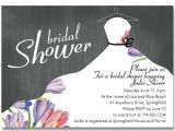 How to Make Bridal Shower Invitations at Home Affordable Elegant Floral Bridal Shower Invitations