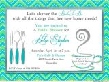 How to Make Bridal Shower Invitations at Home New Home Bridal Shower Invitation Silverware Coffee Cup