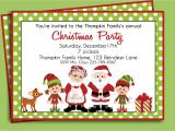 How to Make Christmas Party Invitations Christmas Birthday Party Invitations Home Party Ideas