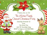 How to Make Christmas Party Invitations Christmas Party Invitation Christmas Holiday Party