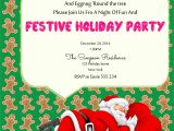 How to Make Christmas Party Invitations Christmas Party Invitation Ideas Christmas Celebration