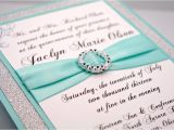 How to Make Homemade Invitations for Quinceaneras Diy Aqua Wedding Quinceanera Sweet Sixteen by Invitebling