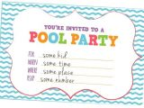 How to Make Pool Party Invitations Fun Kids Pool Party Invites Free Printables Online