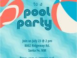 How to Make Pool Party Invitations Pool Party Stuff Free Printable Summer Party Invitation