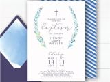How to Make Simple Baptism Invitations Best 25 Christening Invitations Boy Ideas On Pinterest