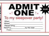 How to Make Slumber Party Invitations Sleepover Party Invitation Templates