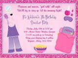 How to Make Slumber Party Invitations Slumber Party Invitation Pajama Party Digital File