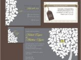 How to Package Wedding Invitations Items Similar to Digital Wedding Invitation Package Diy