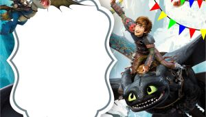 How to Train Your Dragon Birthday Invitation Template Free Download How to Train Your Dragon Invitation Free