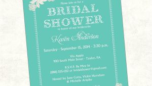 How to Word A Bridal Shower Invitation Bridal Shower Invite Bridal Shower Invite Wording Card