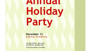 How to Word Christmas Party Invitation Office Christmas Party Invitation Wording Cimvitation