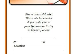 How to Word Graduation Party Invitations 40 Free Graduation Invitation Templates Template Lab
