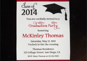 How to Word Graduation Party Invitations College Graduation Party Invitations Party Invitations