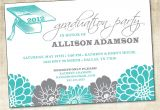 How to Word Graduation Party Invitations Graduation Party Invitation Printable File
