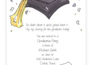 How to Word Graduation Party Invitations Party Invitations Graduation Party Invitation Wording