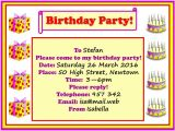 How to Write Invitation for Birthday Party Birthday Party Invitation Learnenglish Kids British