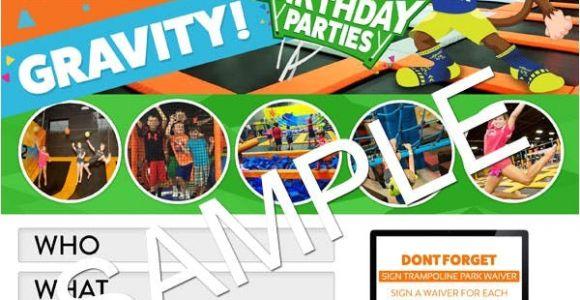 Http Urban Air Trampoline Park Download Birthday Party Invitations Download Party Invitations